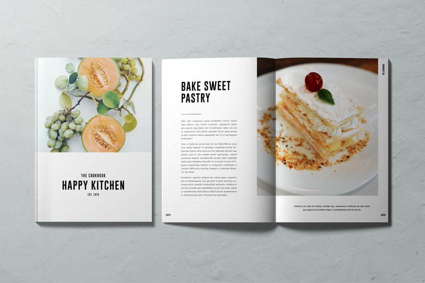 Cookbook Design Template