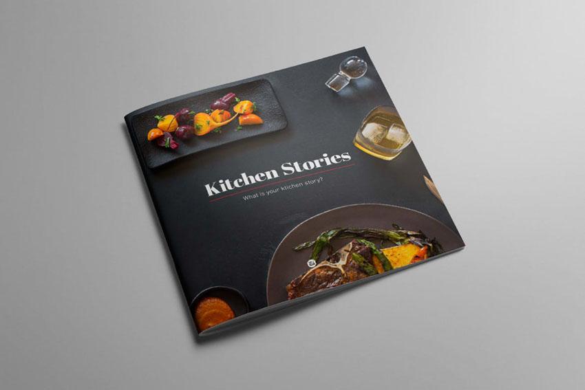 Kitchen Stories Recipe Cookbook Template