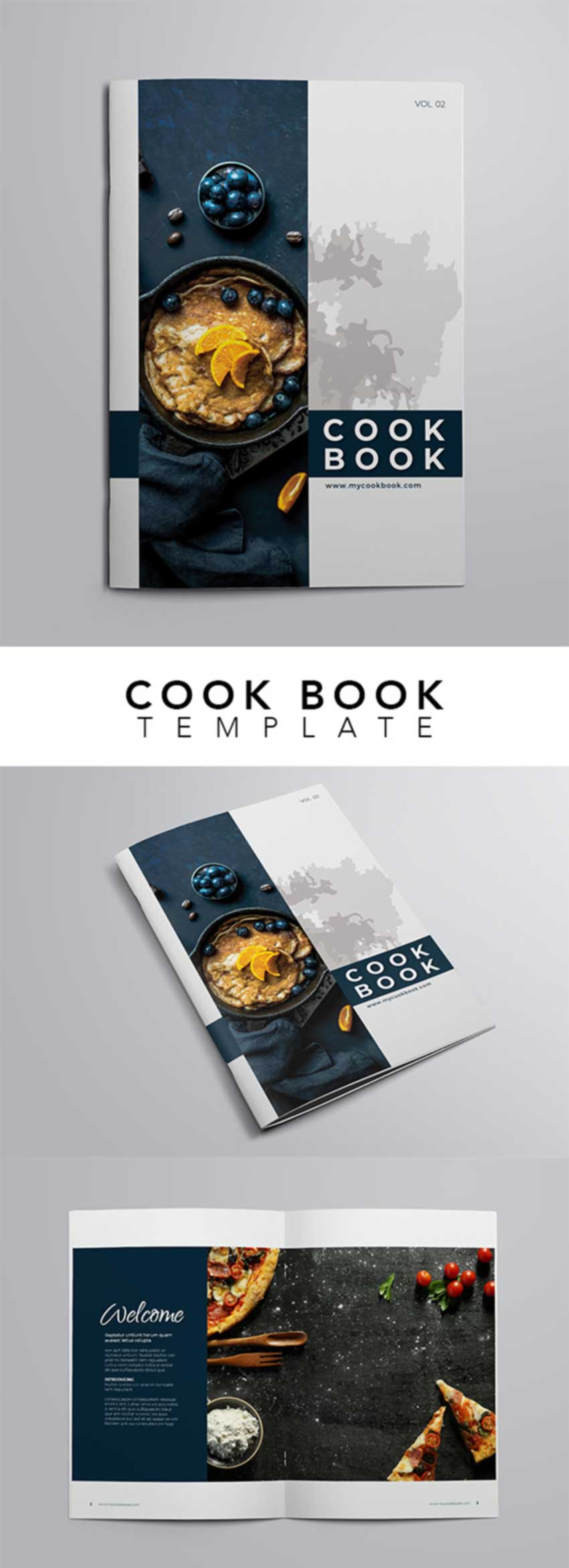 Recipes and Cook Book Template