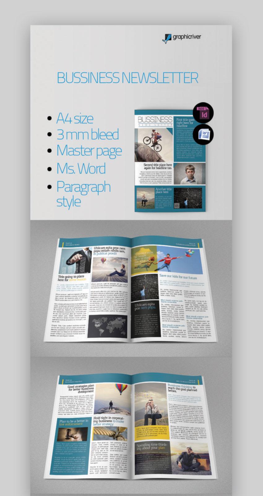 Microsoft Word Business Newsletter