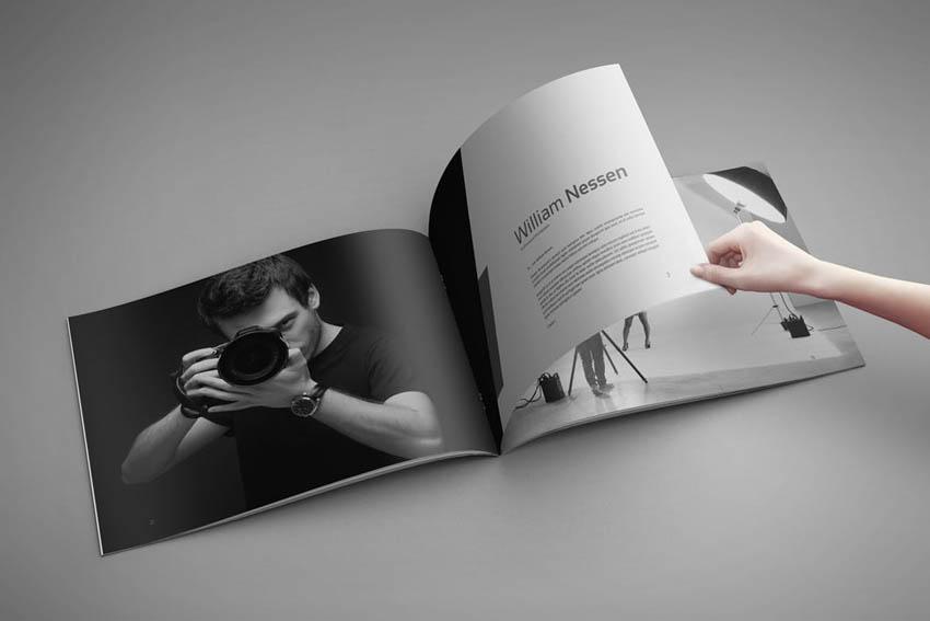 Photo Book Template Album Design