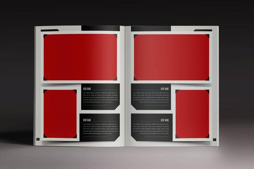 Design Photo Album Indesign Template