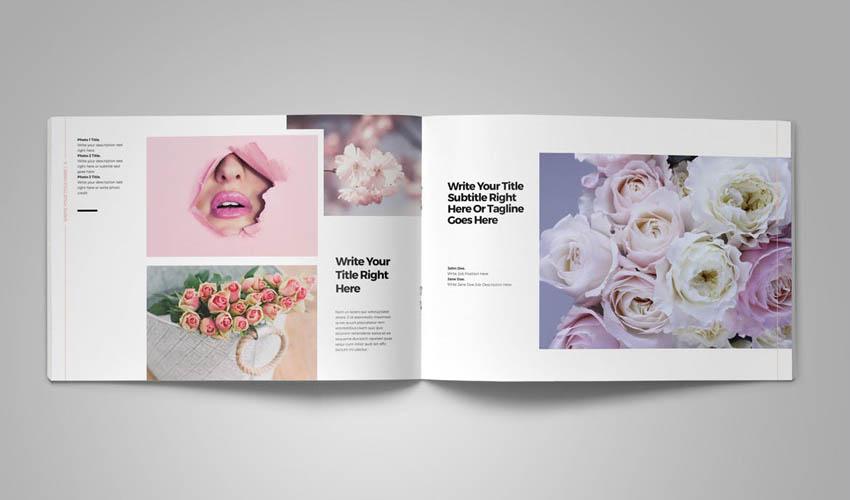 Photo Album Template Design