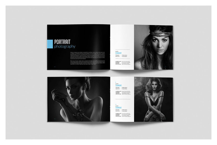 InDesign Photobook Template