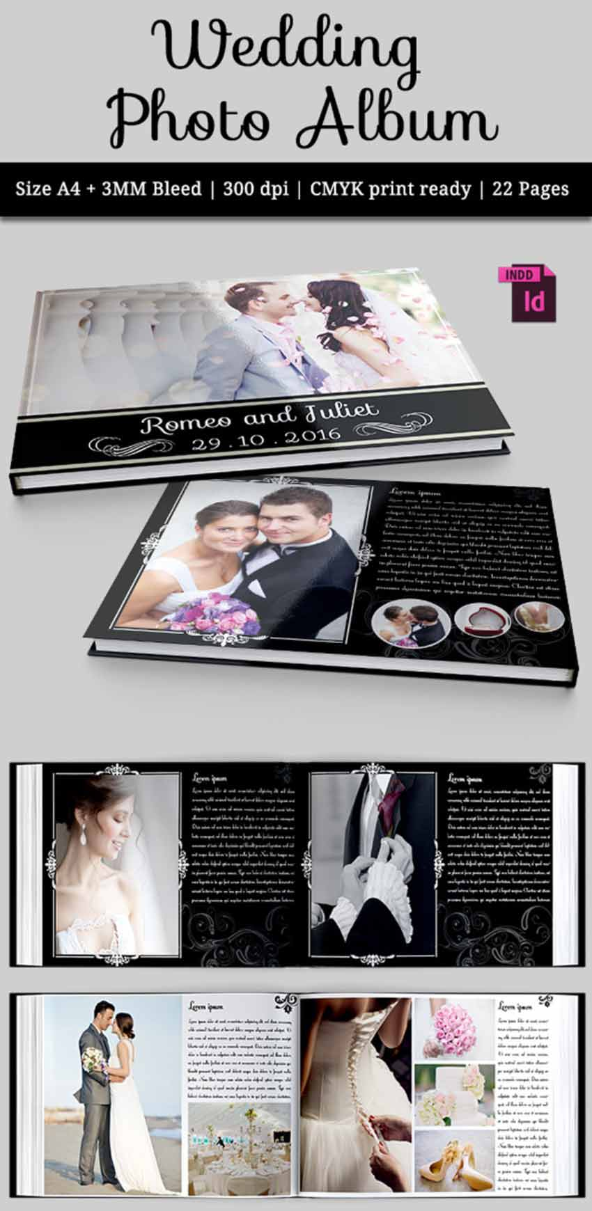 41 Best Indesign Photobook Templates Ready To Download Now
