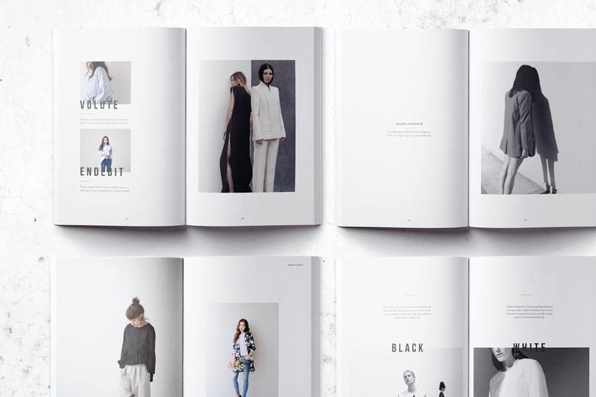 Minimalist Lookbook Design Template