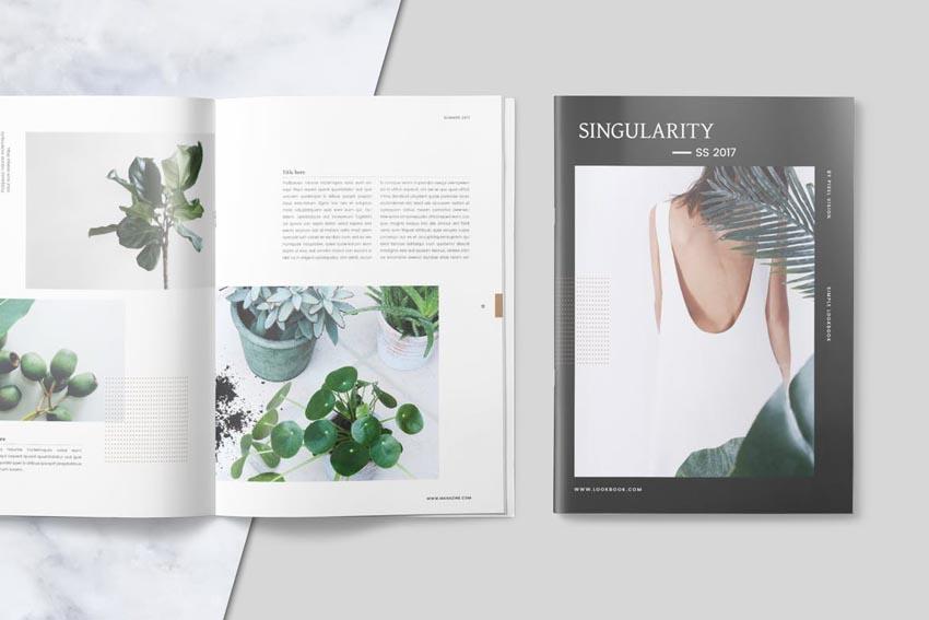 Lookbook Template Design