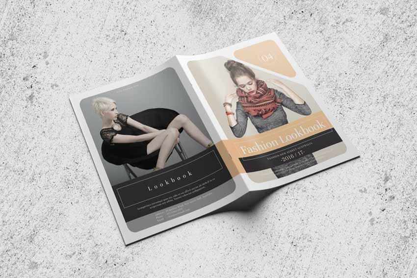 Fashion Design Lookbook Template