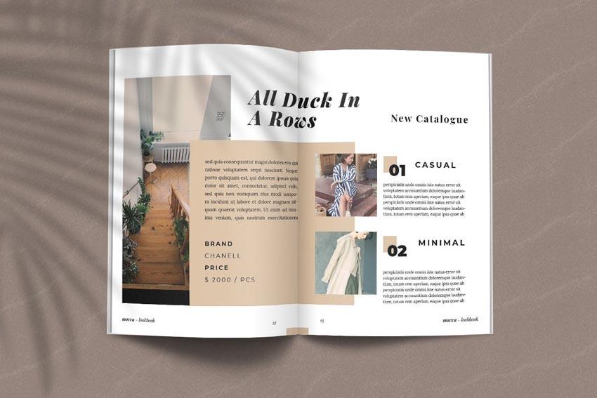 Look Book Design Template