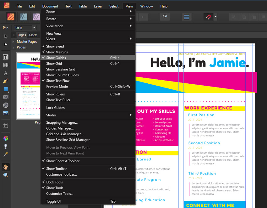 Affinity Publisher Guides
