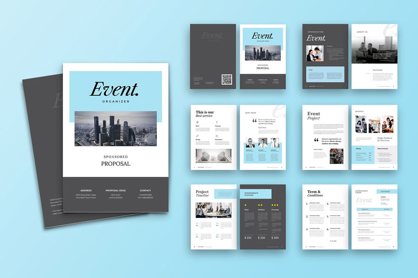 InDesign Proposal Design Template