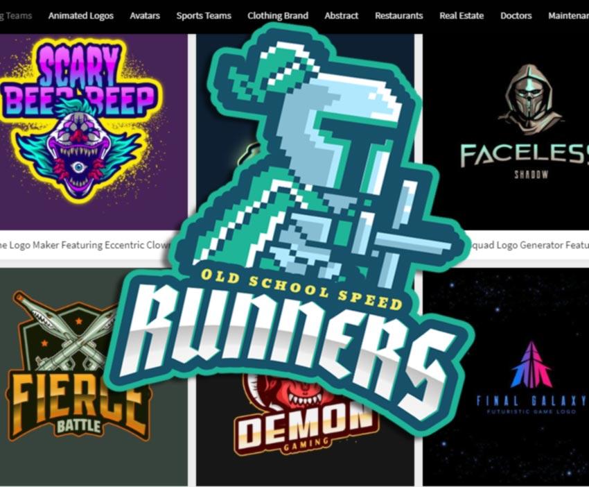 Desain Template Logo Permainan