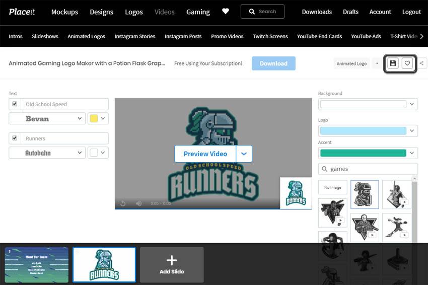 desain logo klan
