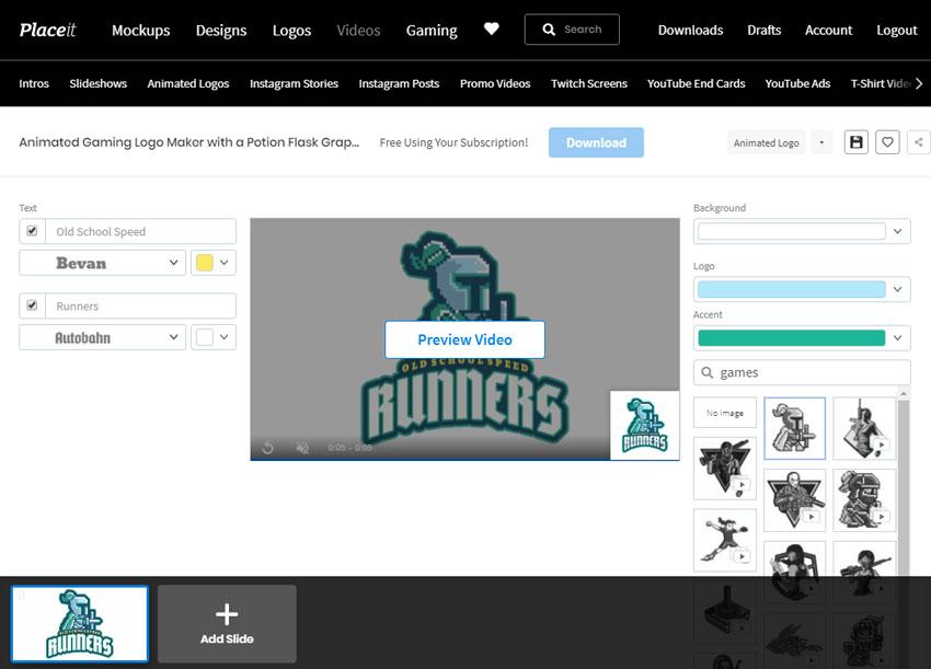 pembuat logo klan game