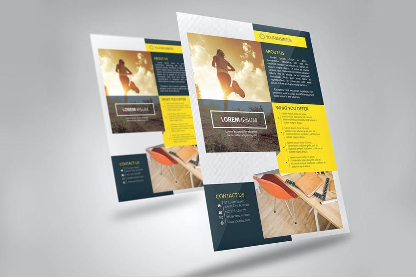How To Make A Business Flyer - Professional Leaflet Design