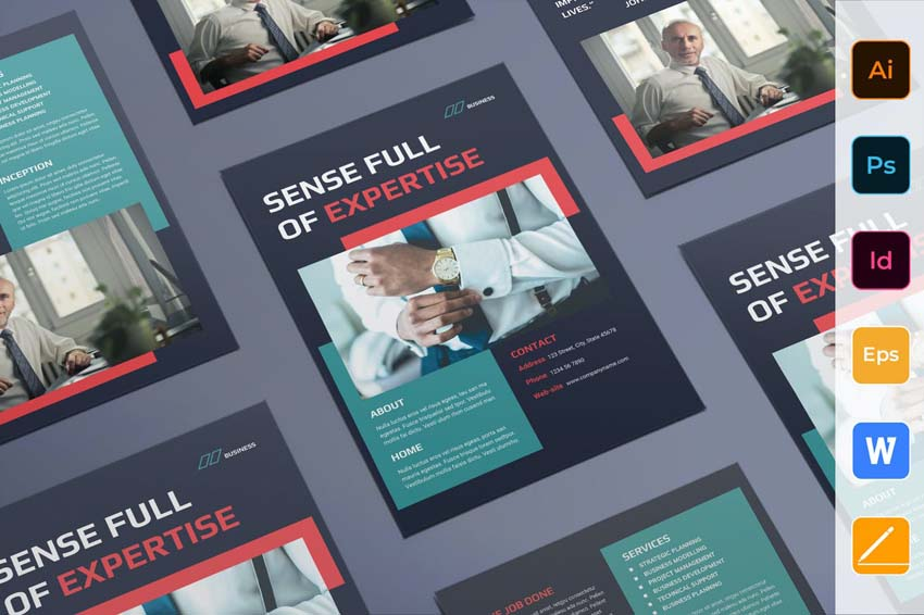 How to Design A Good Business Flyer - Flyer Design Template