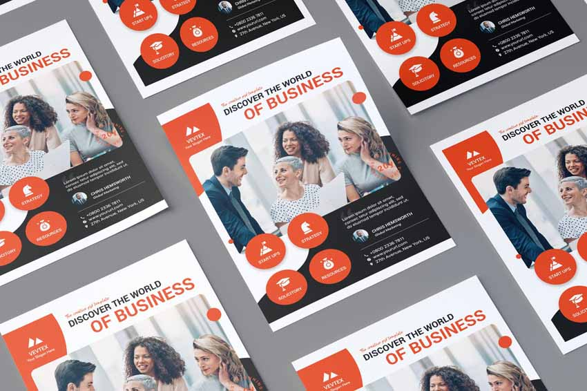 How To Make A Good Flyer - Corporate Business Flyer