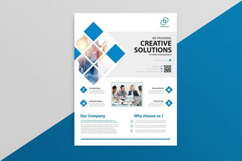 business design flyer