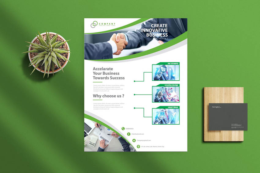 How To Design A Flyer - Business Flyer Template Design