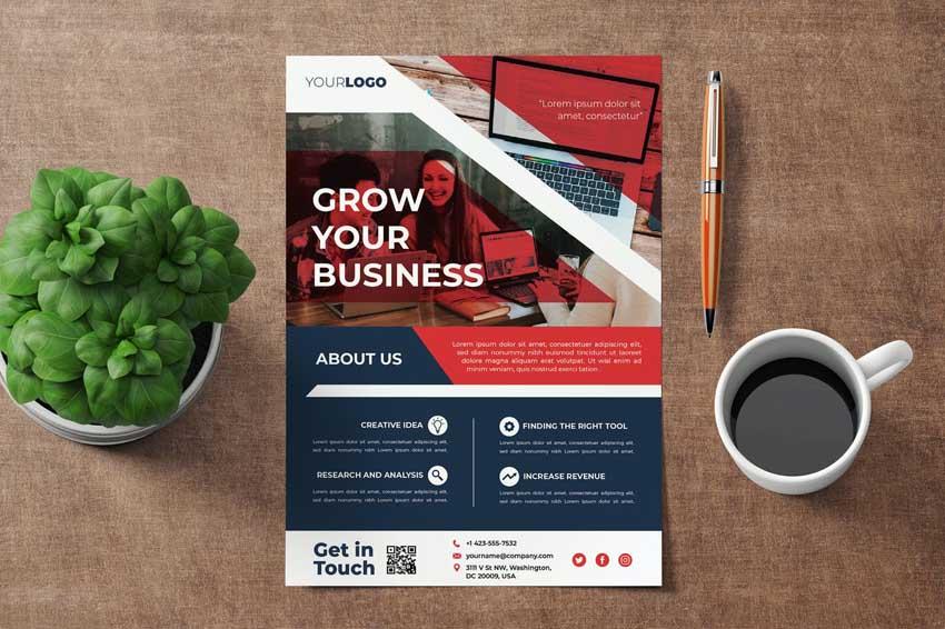Business Flyer Template Design