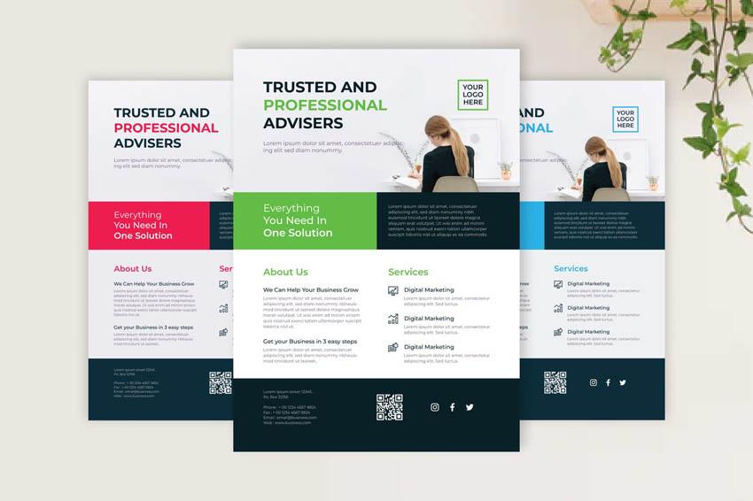 Minimal Design Elements of a Good Flyer