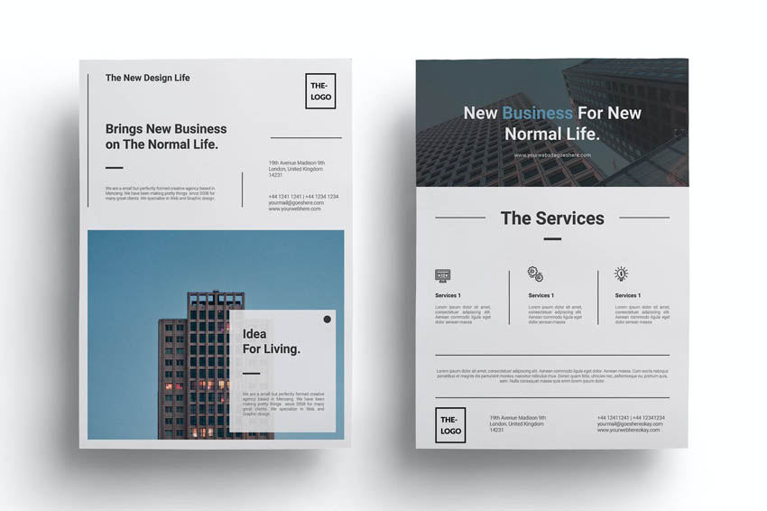 Minimalist Business Flyer Design