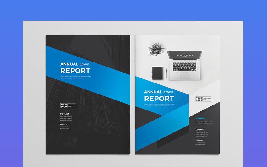 Multipurpose Annual Report Templates