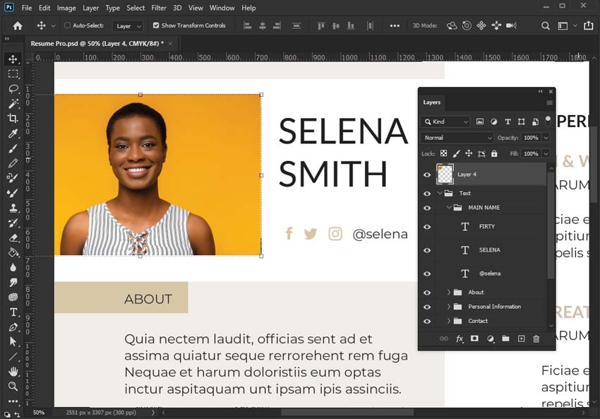 Add Images in Photoshop