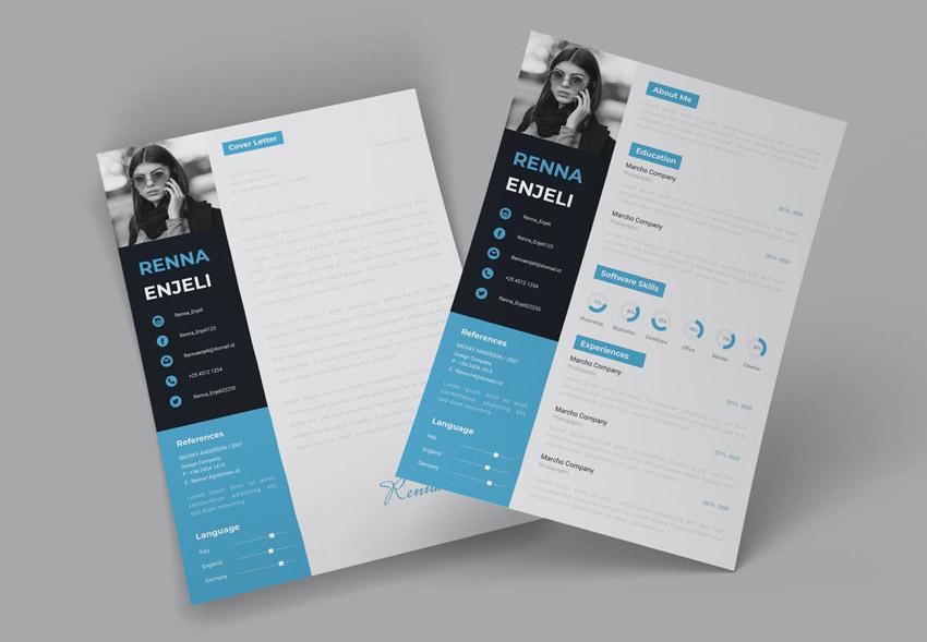Adobe InDesign Resume Templates