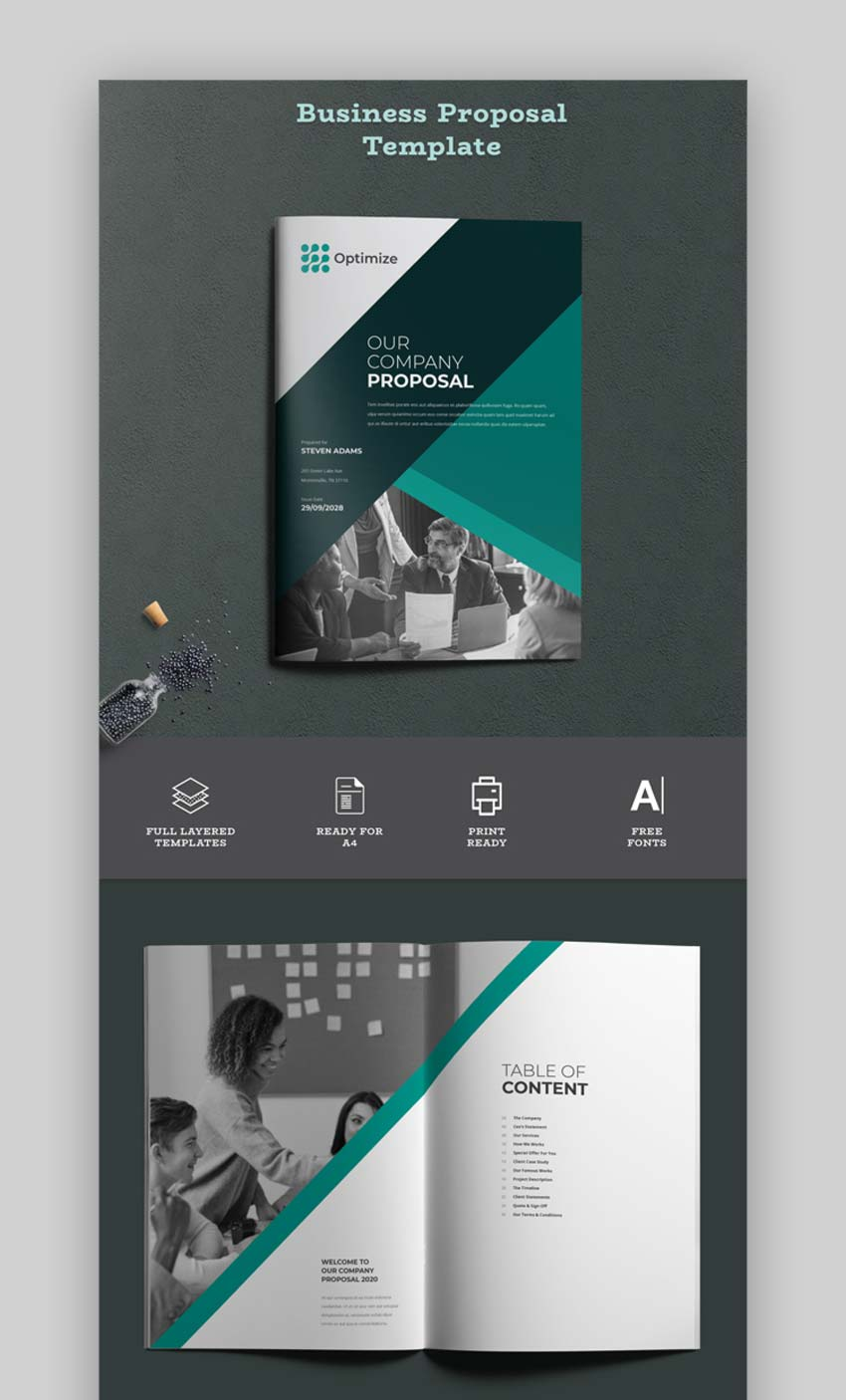 Business Proposal Design Template