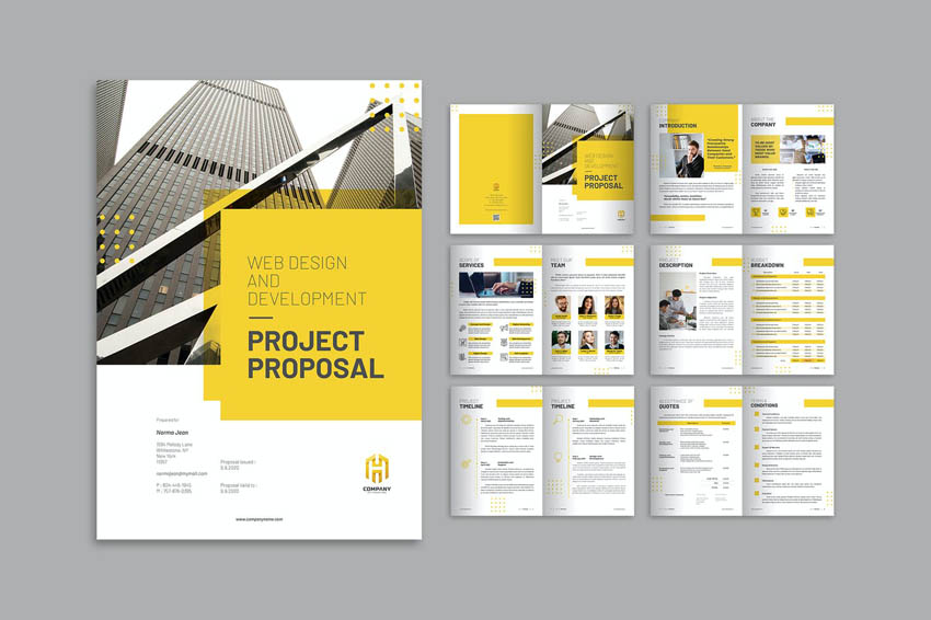 business proposal design