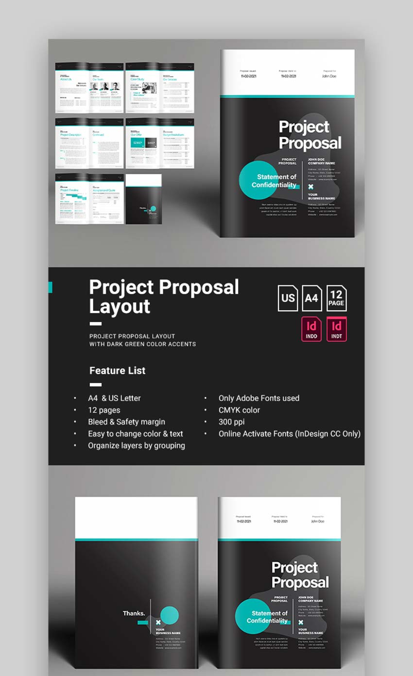 Creative Proposal Template Design