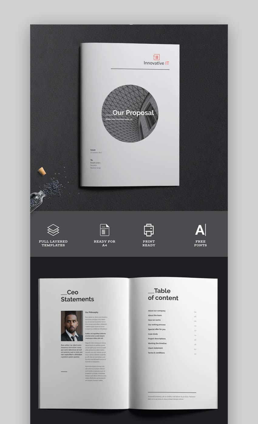 Creative Business Proposals Template