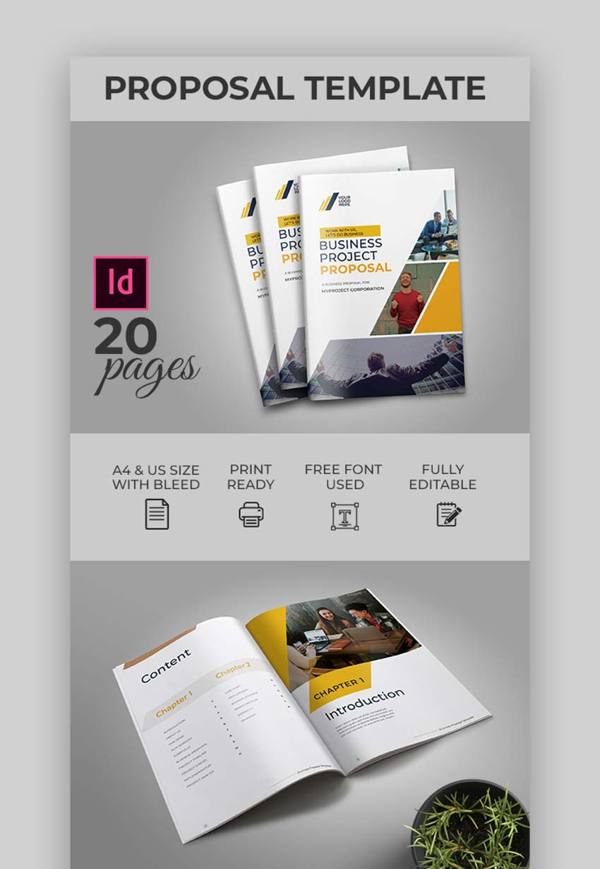Creative Proposal Designs Template