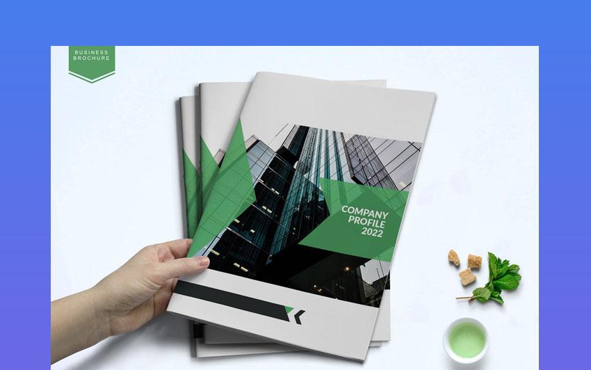 Adobe InDesign Annual Report Templates Design