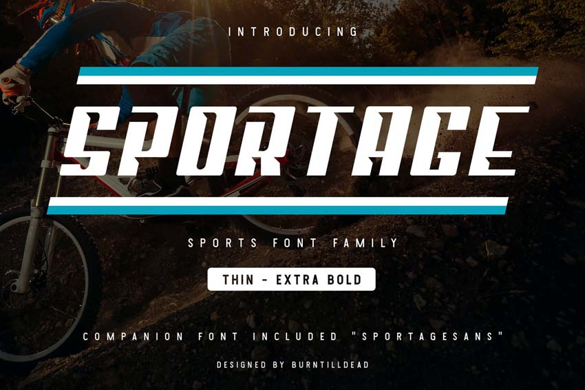 school sports font