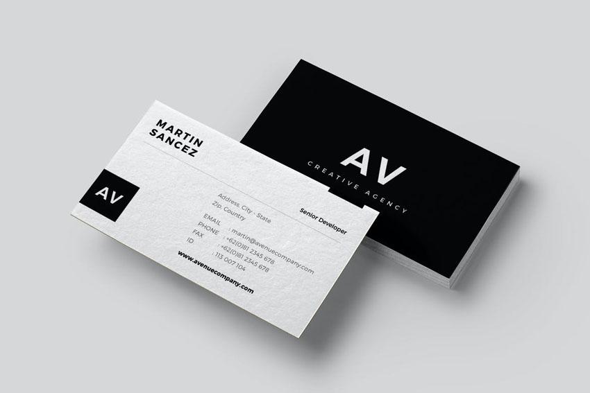 business card premium design