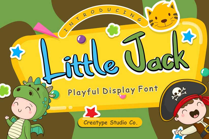 Little Jack Playful Display Font