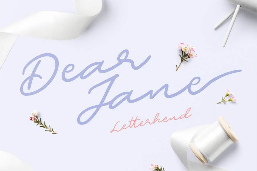 Dear Jane Script Font