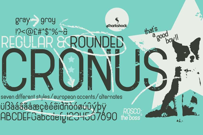 Cronus Cool Modern Fonts