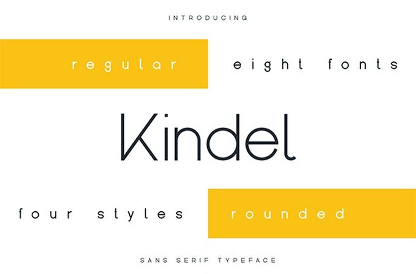 Kindel Modern Font Styles