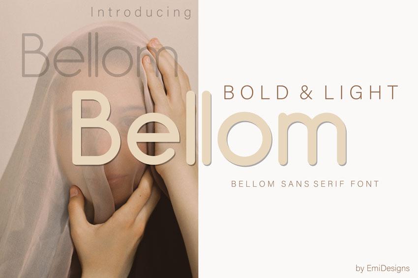 Bellom Modern Sleek Fonts
