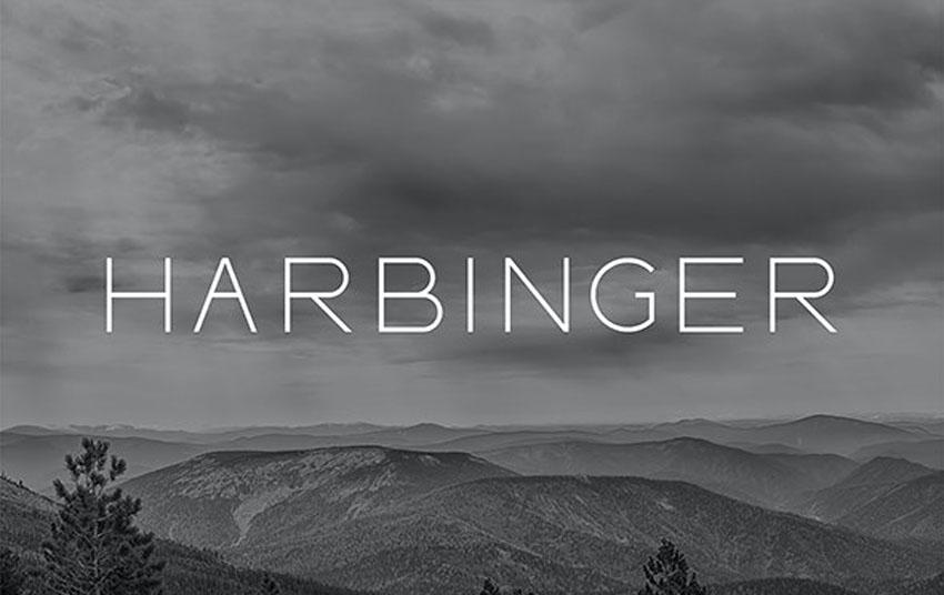 Harbinger Thin Modern Fonts