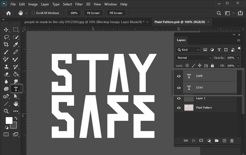 type tool photoshop