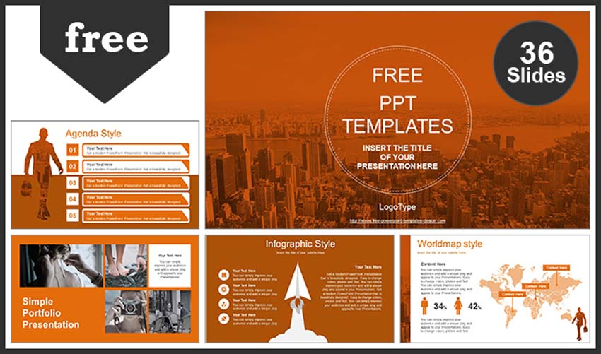 Free PowerPoint Presentation for Construction