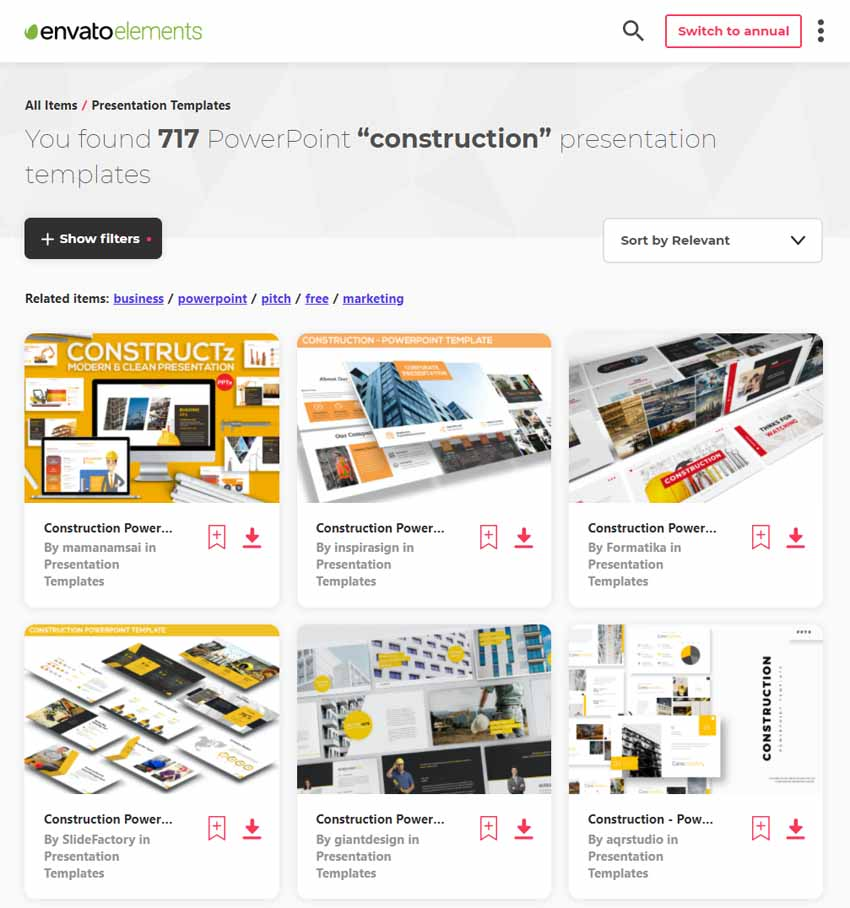 25 Best Free Construction Powerpoint Ppt Templates