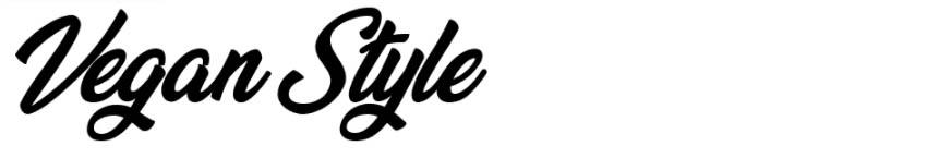 Vegan Style Free Font Download