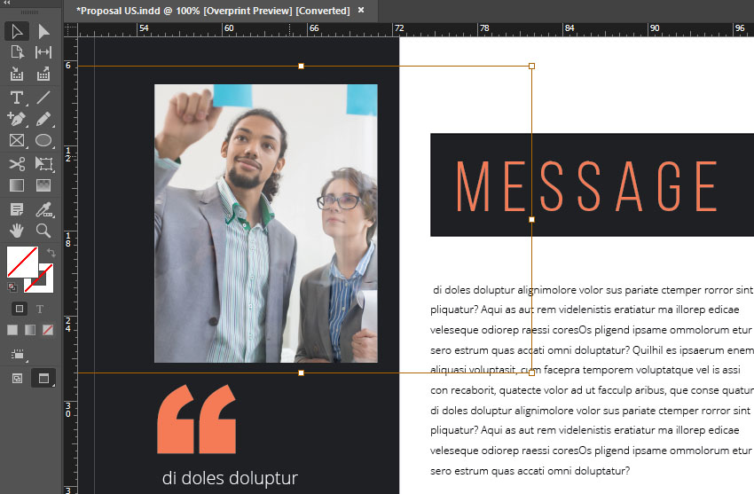 Import Imagery Into Your Design Template