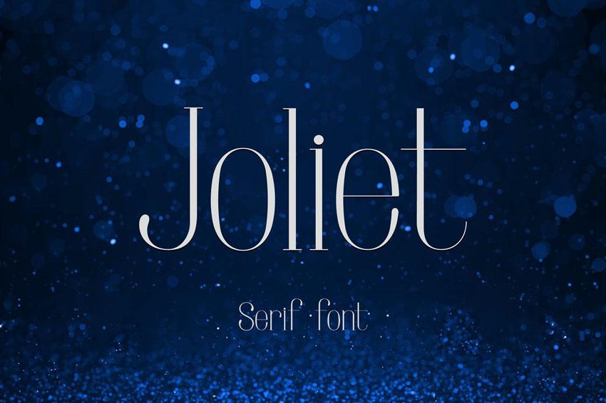Joliet Serif Didone Typefaces