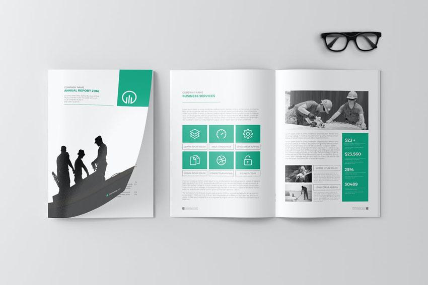 cover design annual report
